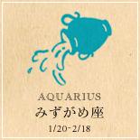 AQUARIUS/みずがめ座