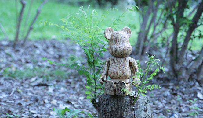 more treesオリジナル木製BE@RBRICK 受注開始!