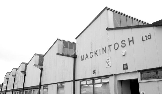 History of MACKINTOSH