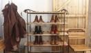 イギリスの靴工場で使用されていたヴィンテージのシューラック