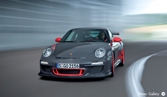 PORSCHE 911 GT3 RS|すべてはレースでの成功のために
