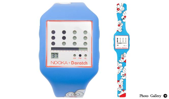 PRODUCTS|NOOKAよりコラボレーションモデル「Doratch + Nooka」発売