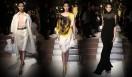 サルヴァトーレ フェラガモの2010春夏ランウェイショー。モデルには生方ななえさん、小泉深雪さんらが登場。ゲストモデルの冨永愛さんがフィナーレを飾った。