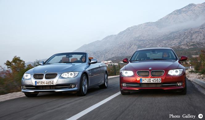 BMW 3シリーズ クーペ&コンバーチブル|「エフィシエントダイナミクス」を具現