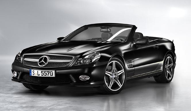 Mercedes benz sl 350 night edition web for Mercedes benz sl 2010