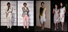 デザイナーのドン小西さん、俳優の辰巳琢郎さん、2010年ミス・ユニバース・ジャパンの板井麻衣子さん、モデルの前田典子さん、生方ななえさん。