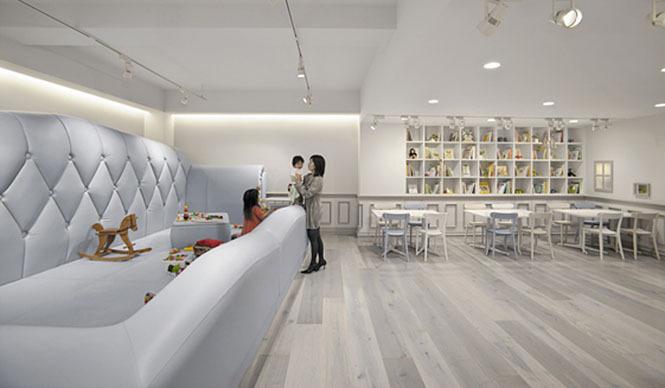 nendo|親子カフェ「tokyo baby cafe」のインテリアデザインを担当