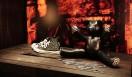 CHROME HEARTS│クロムハーツ 新作のパンクシリーズ CH PLUSスタッズ付きコンバース45万1500円、ピラミッドスタッズ付きBEAR34万6500円