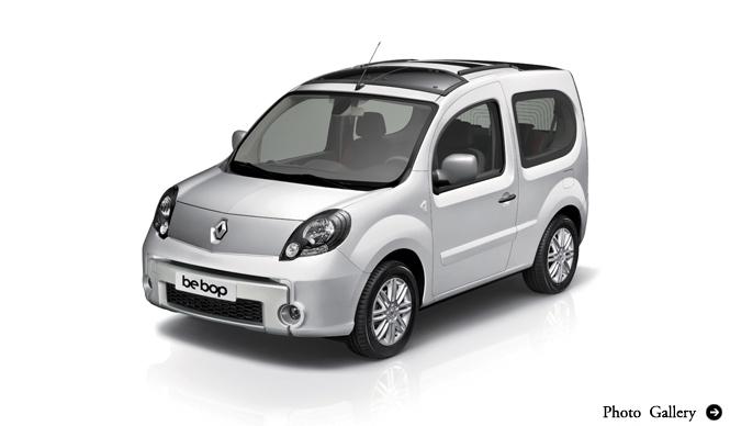 Renault Kangoo Bebop|ルノー カングー ビボップ インプレッション