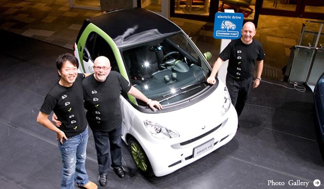 試乗 Smart Fortwo Electric Drive
