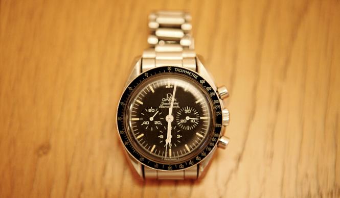 My Own Watch 第3回|松浦俊夫 愛用の時計、オメガ「スピードマスター」のアポロ11号限定モデル。