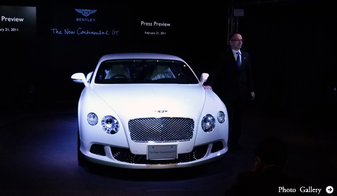 BENTLEY Continental GT Coupe|ベントレー コンチネンタル GT クーペ 新型、日本上陸!