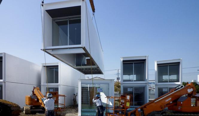エクスコンテナ・プロジェクト ずっと使える住宅を被災者に