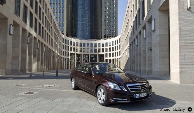 Mercedes-Benz E-class メルセデス・ベンツ Eクラス  新エンジンを追加