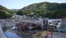 松浦俊夫 from TOKYO MOON 7月3日 ON AIR 宮城県・女川漁港。海抜25メートルの高台にも津波は押し寄せたそうだ。