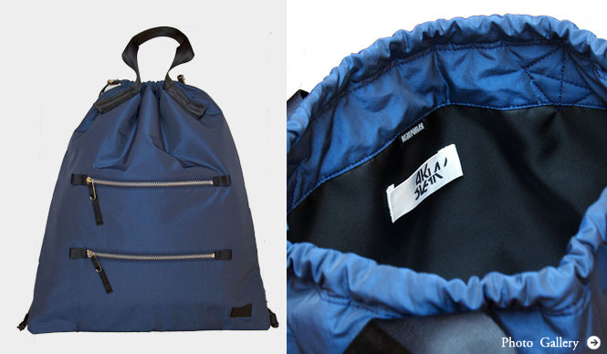 HEAD PORTER|「NSW」、「BLAAK」とのコラボレーションバッグ