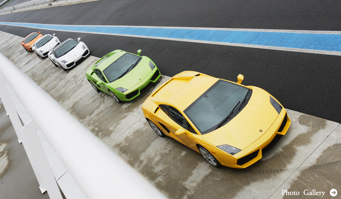 Lamborghini Gallardo LP 550-2 サーキットでの試乗インプレッション