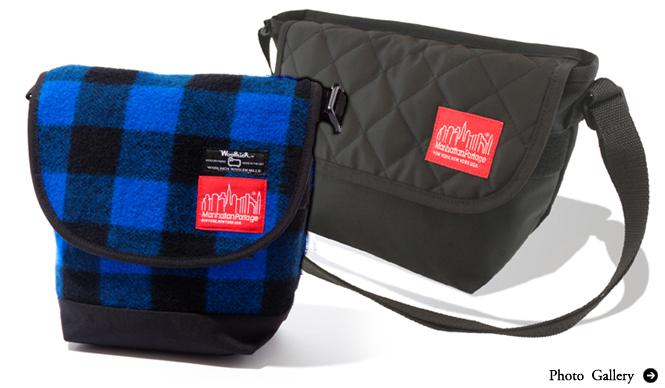 Manhattan Portage ウールリッチ®とのコラボレーションバッグ!