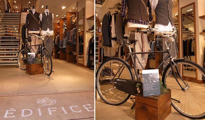 ABICI|「EDIFICE×ABICI コラボレート自転車」発売