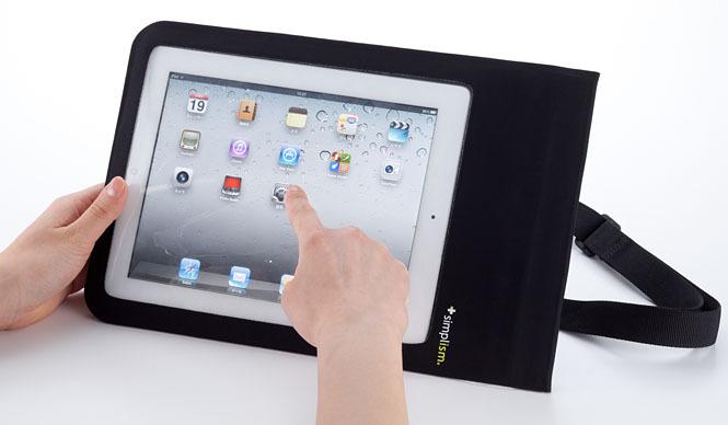 Simplism|シンプリズム  IPX7準拠の防水完備の全天候型 iPadケース「Waterproof Case for iPad」