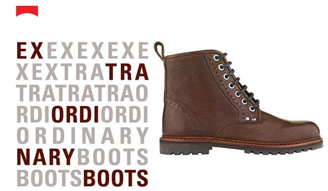 CAMPER|ブーツを楽しむ「Extraordinary Boots」プロモーション