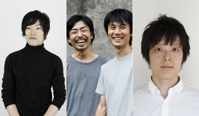 DESIGNTIDE TOKYO 2011|デザインタイド トーキョー2011 左から、PINTO、北川大輔氏、福田修平氏