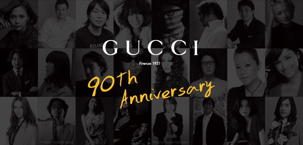 GUCCI 90th Anniversary Special!  グッチ オフィシャルブログ「GUCCI 90 th Anniversary ! 」に同時掲載中。
