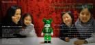 メリーグリーンクリスマス 2011|グリーンサンタと松永麻衣子さん