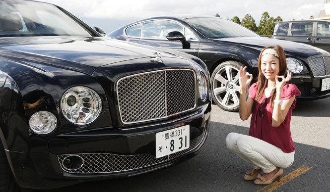 BENTLEY ベントレー 最新サルーン&クーペにOPENERSブロガー清水久美子が試乗!