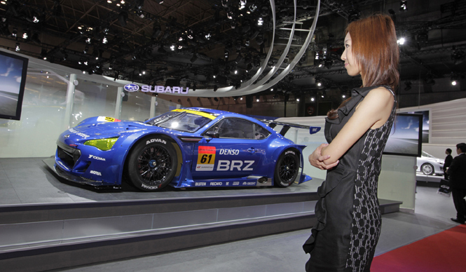 清水久美子が選ぶ! 第42回東京モーターショー2011 Best 10  SUBARU BRZ GT300 Version スバルBRZ GT300バージョン
