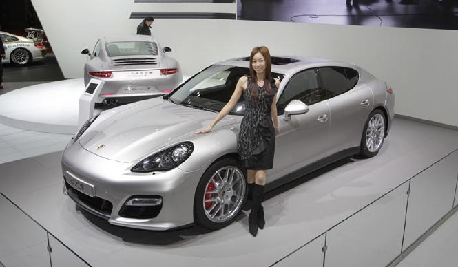 清水久美子が選ぶ! 第42回東京モーターショー2011 Best 10|Porsche Panamera GTS|ポルシェ パナメーラ GTS