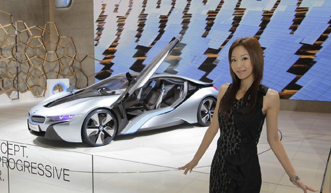 清水久美子が選ぶ! 第42回東京モーターショー2011 Best 10|BMW i8 Concept|ビー・エム・ダブリュー i8コンセプト