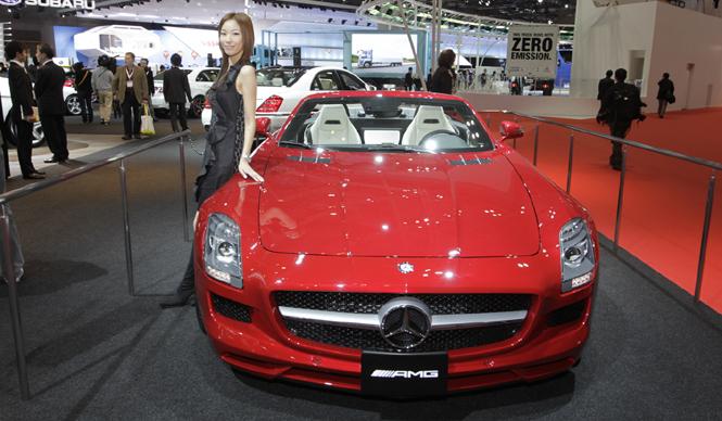 清水久美子が選ぶ! 第42回東京モーターショー2011 Best 10|Mercedes-Benz SLS AMG Roadster|メルセデス・ベンツ SLS AMG ロードスター