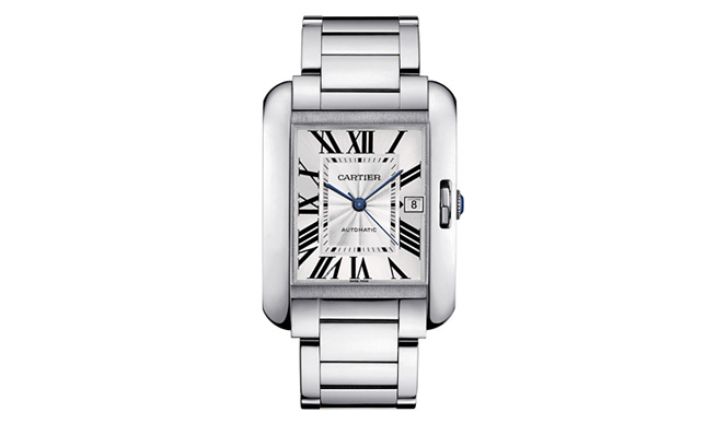 Cartier|カルティエ 「タンク アングレーズ ウォッチ LM」370万200円(予価)、6月発売予定。 Daniel Lindh, Vincent Wulveryck©Cartier 2011