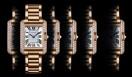 Cartier|カルティエ 「タンク アングレーズ ウォッチ SM」306万3900円(予価)、6月発売予定。 Daniel Lindh, Vincent Wulveryck©Cartier 2011