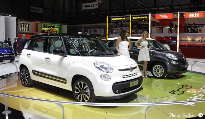 ジュネーブ現地リポート|Fiat
