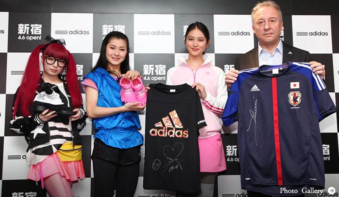 adidas|直営店国内最大級のアディダス ブランドコアストア 新宿