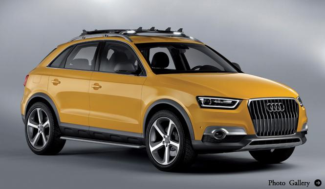 アウディ、Q3に2台のコンセプトカーを発表|Audi