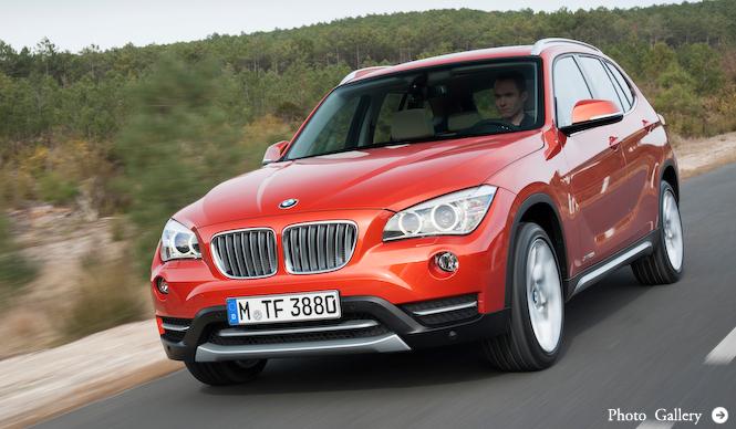 小型SAV「X1」を本国でマイナーチェンジ|BMW