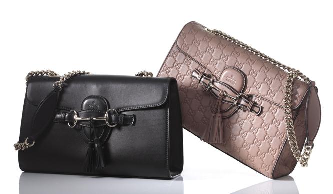GUCCI|グッチ 2012年のクルーズコレクションで発表されて以来人気を博している「エミリー」ラインに新型、新色が登場