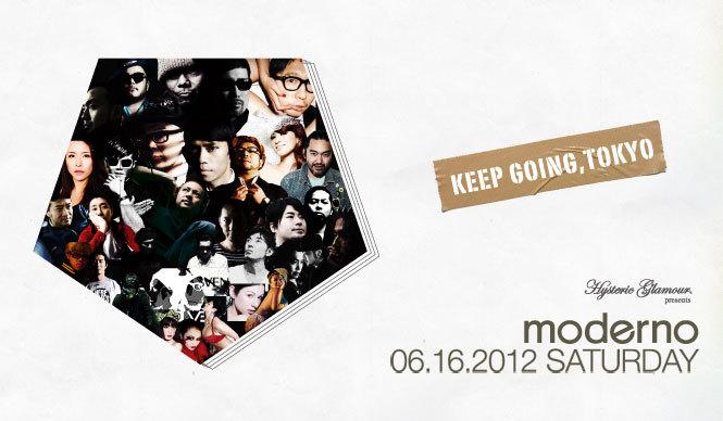 EVENT | 唯一無二の空間『moderno~Keep Going, Tokyo~』
