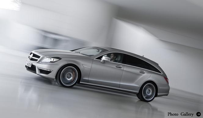CLSシューティングブレイクにAMGモデルを追加|Mercedes-Benz