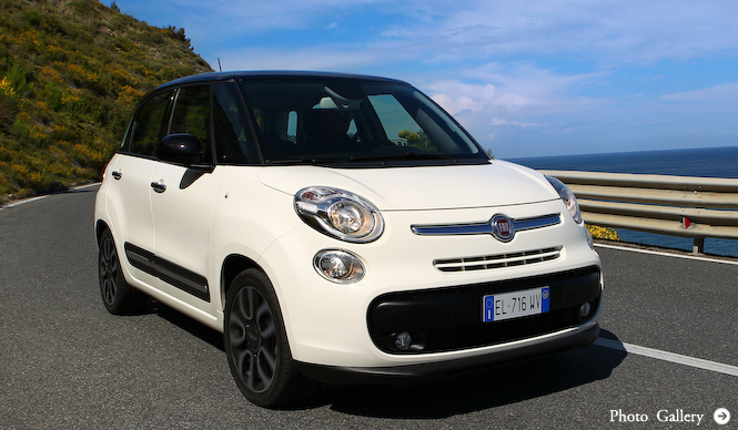フィアット500の4ドア版「500L」登場|Fiat