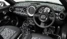 HOTEI x MINI Coupe Roadster|布袋寅泰×ミニ・ロードスター白い幾何学模様はインテリアの細部までほどこされる