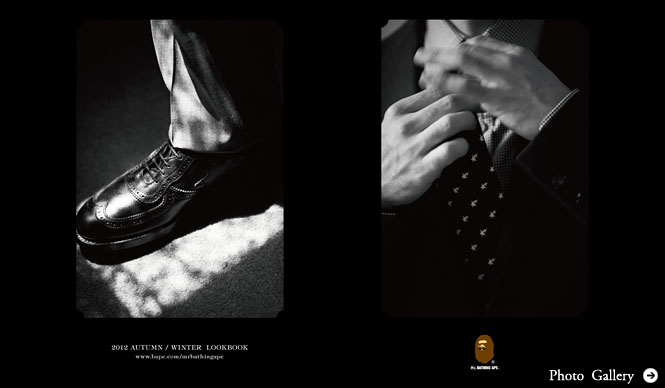 Mr.BATHING APE|NIGO自らが着る最新秋冬コレクション