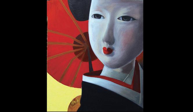 ART|フランス人画家が絵筆で描く日本情緒