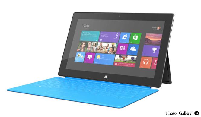 Microsoft|マイクロソフトのタブレットSurface登場
