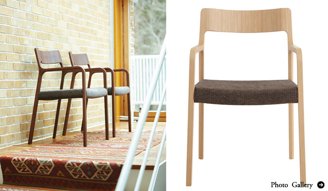 arflex 「RINN + Fabric <RINN Chairと5組のクリエイター展>」開催