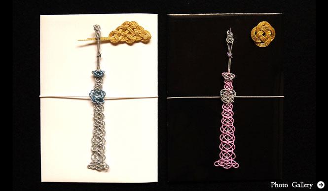 TIER|日本人の潜在的な美意識を刺激する、ちょっと変わったおしゃれなご祝儀袋