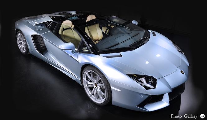 ついに登場、オープントップのアヴェンタドール|Lamborghini